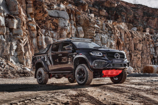 Free 2020 Mercedes Benz X class Tuning Picture for Android 320x480