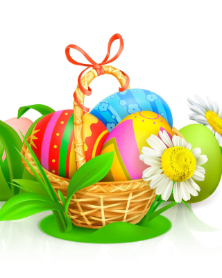 Easter Gift Background for 480x800
