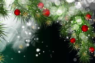 Bright Christmas Wallpaper for Android, iPhone and iPad