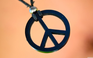 Peace & Love Wallpaper for Android, iPhone and iPad