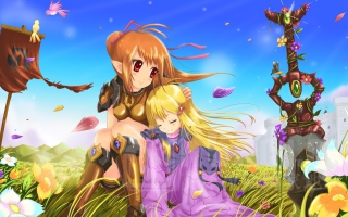 Anime Girls sfondi gratuiti per cellulari Android, iPhone, iPad e desktop