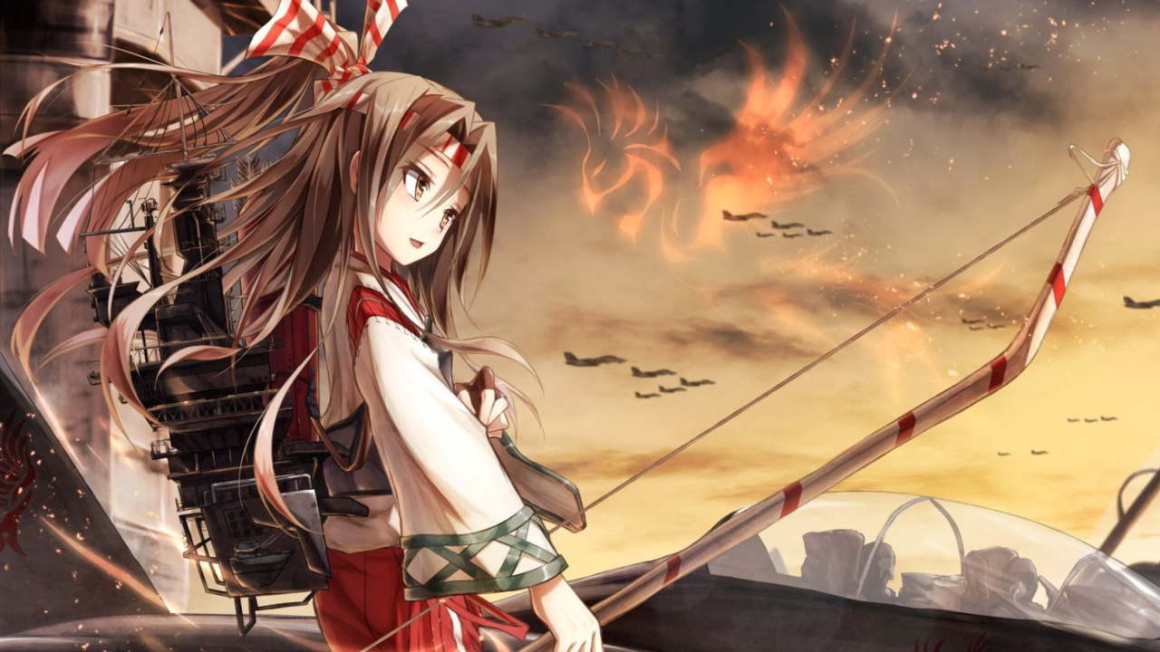 Das Zuihou Anime from Kantai Wallpaper 1280x720