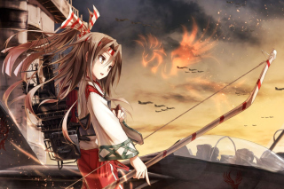 Zuihou Anime from Kantai Wallpaper for Android, iPhone and iPad