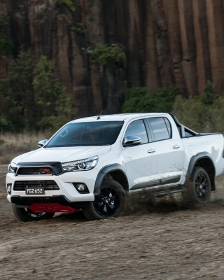 Toyota HiLux TRD Background for Nokia Asha 311