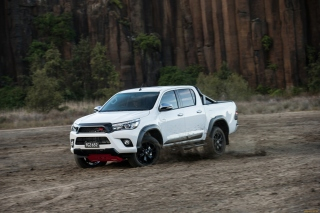 Toyota HiLux TRD Background for Android, iPhone and iPad