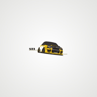 Subaru STI Background for iPad 2