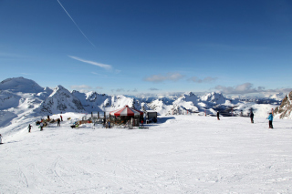 Obertauern Background for Android, iPhone and iPad