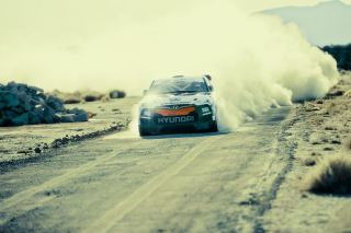 Hyundai Veloster Rally Car Picture for Android, iPhone and iPad