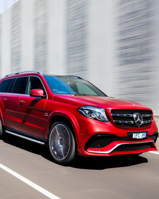 Mercedes Benz GLS 2016 sfondi gratuiti per iPhone 6 Plus