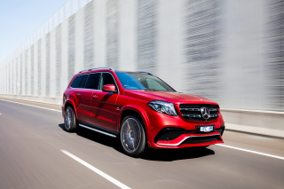 Mercedes Benz GLS 2016 Background for Android, iPhone and iPad