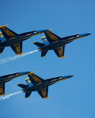 US Navy Blue Angels Background for iPhone 5S