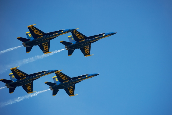Screenshot №1 pro téma US Navy Blue Angels