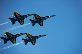 US Navy Blue Angels Wallpaper for 1366x768