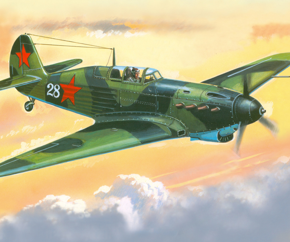 Screenshot №1 pro téma Yakovlev Yak 7 Fighter 960x800