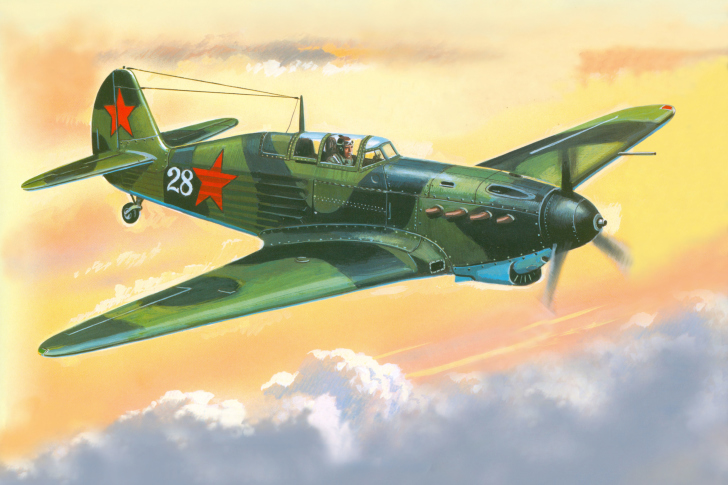 Screenshot №1 pro téma Yakovlev Yak 7 Fighter