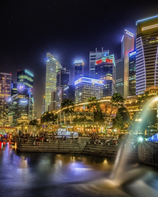 Singapore Wallpaper for 240x320