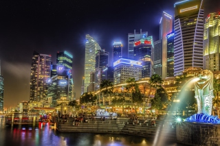 Singapore Background for Android, iPhone and iPad