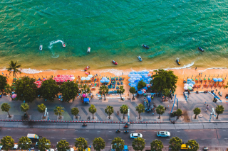 Pattaya Background for Android, iPhone and iPad