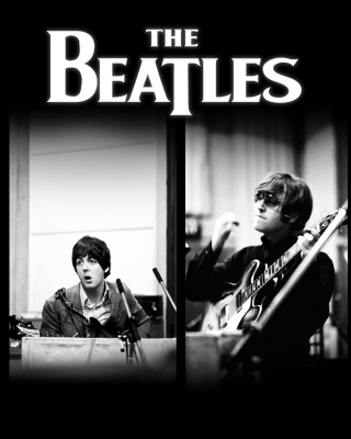 Beatles: John Lennon, Paul McCartney, George Harrison, Ringo Starr sfondi gratuiti per iPhone 5