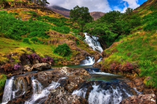 Snowdonia National Park in north Wales Picture for Android, iPhone and iPad