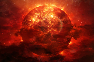 Planet Explosion Picture for Android, iPhone and iPad