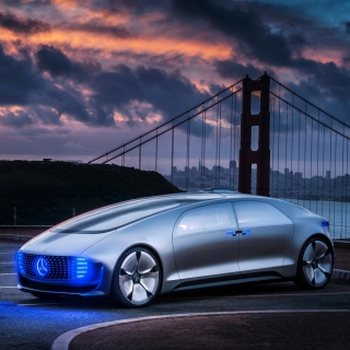 Free Mercedes Benz Vision Picture for 320x320