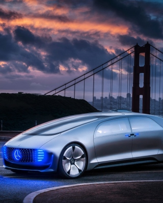 Mercedes Benz Vision sfondi gratuiti per iPhone 6 Plus