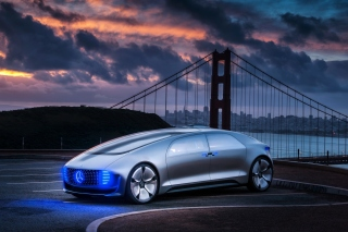 Mercedes Benz Vision Background for Android, iPhone and iPad