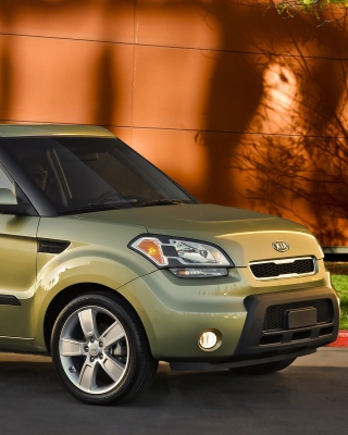 Kia Soul sfondi gratuiti per iPhone 6 Plus