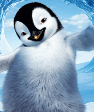 Free Happy Feet Picture for Nokia Asha 306