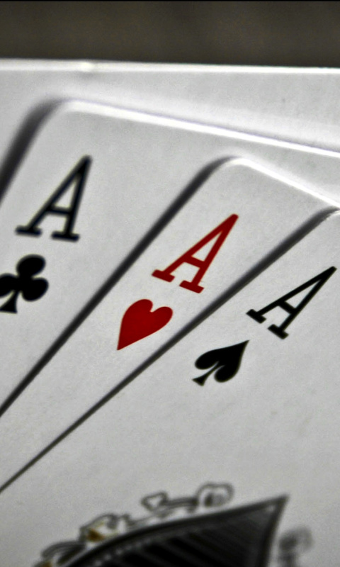 Screenshot №1 pro téma Deck of playing cards 480x800