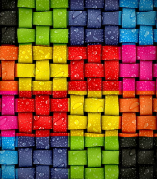 Color Twist Background for Nokia Asha 311