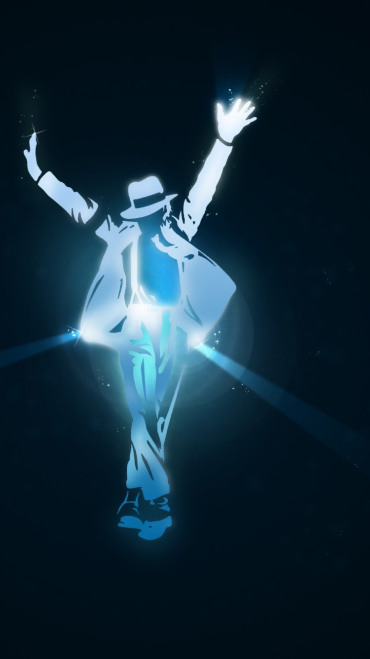 Screenshot №1 pro téma Michael Jackson Dance Illustration 750x1334