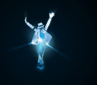Michael Jackson Dance Illustration sfondi gratuiti per iPad mini