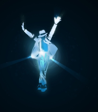 Kostenloses Michael Jackson Dance Illustration Wallpaper für Nokia C6