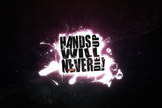 Hands Up Will Never Die Background for Android, iPhone and iPad