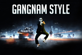 Gangnam Style Wallpaper for Android, iPhone and iPad