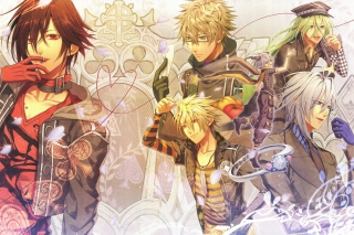 Amnesia, Shin  Ikki  Kent  Toma Background for Android, iPhone and iPad
