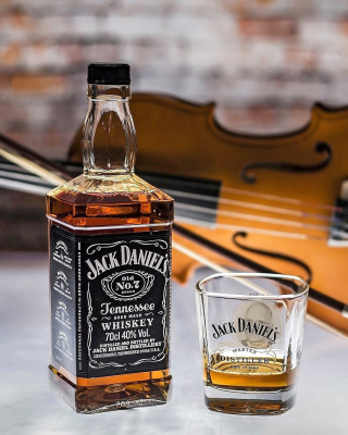 Jack Daniels Whiskey Background for Nokia Asha 311