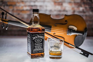 Jack Daniels Whiskey Background for Android, iPhone and iPad