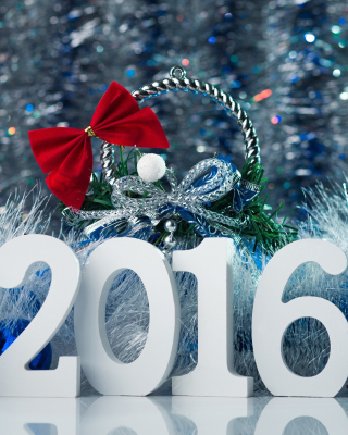 Happy New Year 2016 Wallpaper Picture for Nokia Asha 310