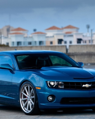 Free Chevrolet Camaro SS Picture for Nokia C1-01
