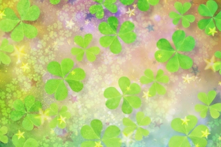 Clover Leaves Picture for Android, iPhone and iPad