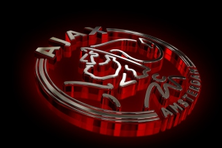 AFC Ajax Logo Background for Android, iPhone and iPad