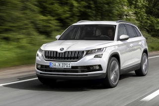 Skoda Kodiaq SUV Background for Android, iPhone and iPad