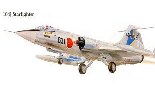 F 104J Starfighter Plastic Model sfondi gratuiti per cellulari Android, iPhone, iPad e desktop