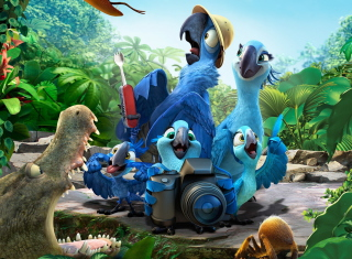 Rio 2 Background for 800x480