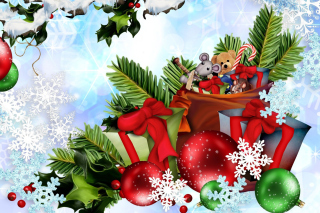 Обои Festive season sparkle and shine на Fullscreen Desktop 1400x1050