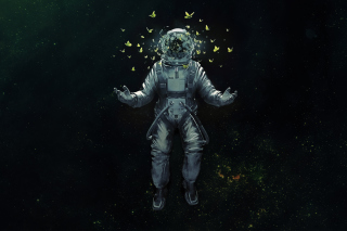 Astronaut's Dreams Wallpaper for Android, iPhone and iPad