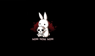 Blood-Thirsty Hare Picture for Android, iPhone and iPad